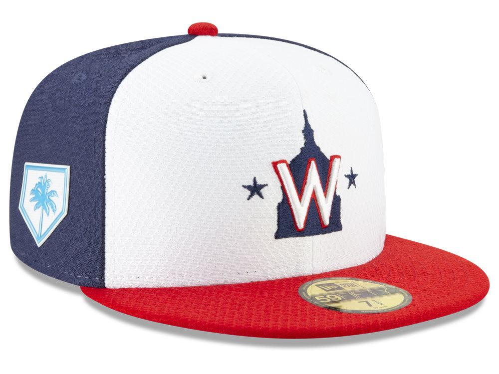 Washington Nationals New Era 2019 MLB Spring Training 59FIFTY Cap ... a7cd4e2c96a2