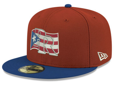 Puerto Rico New Era Country Flag 59FIFTY Cap