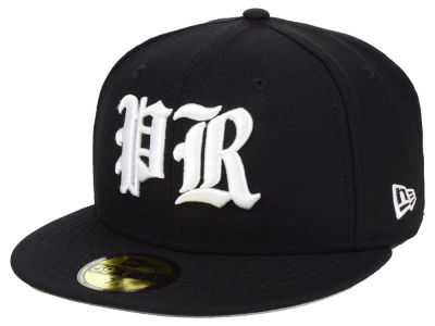 Puerto Rico New Era Country Initials 59FIFTY Fitted Cap