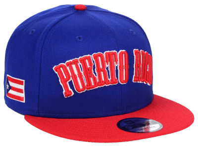 Puerto Rico New Era Arched 9FIFTY Snapback Cap