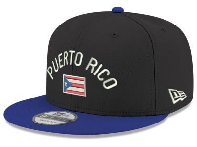 Puerto Rico New Era Arched Flag 9FIFTY Snapback Cap