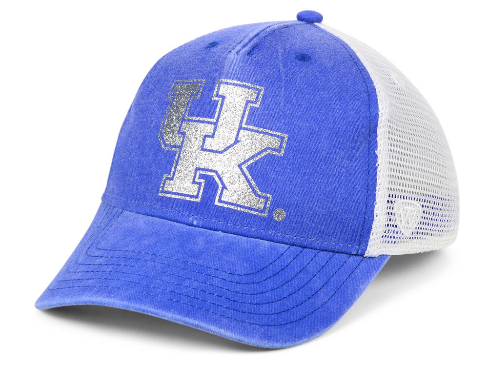 3df2e3a4 ... promo code kentucky wildcats top of the world ncaa womens prime glitz trucker  cap 0a30c 9ac51