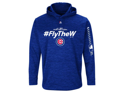 Chicago Cubs 2018 MLB Men's Postseason Ultra Fleece Hoodie