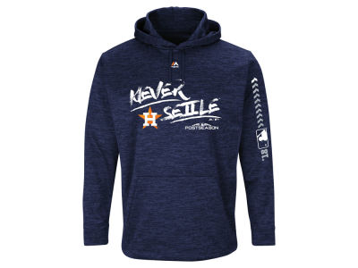 Houston Astros 2018 MLB Men's Postseason Ultra Fleece Hoodie