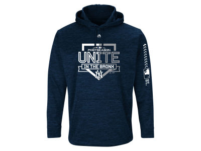 New York Yankees 2018 MLB Men's Postseason Ultra Fleece Hoodie