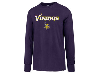 Minnesota Vikings '47 NFL Men's Pregame Super Rival Long Sleeve T-Shirt