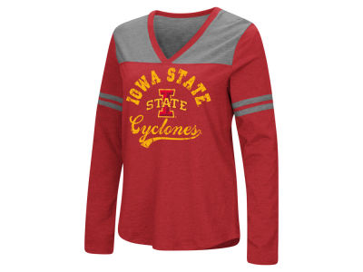 Iowa State Cyclones Colosseum NCAA Women's Dual Blend Long Sleeve T-Shirt