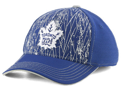 5ecbd8bfffd Toronto Maple Leafs Outerstuff NHL Youth On-Ice Structured Flex Cap