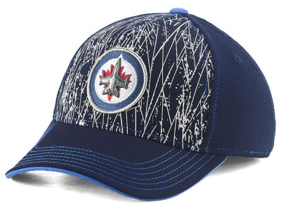 Winnipeg Jets Outerstuff NHL Youth On-Ice Structured Flex Cap