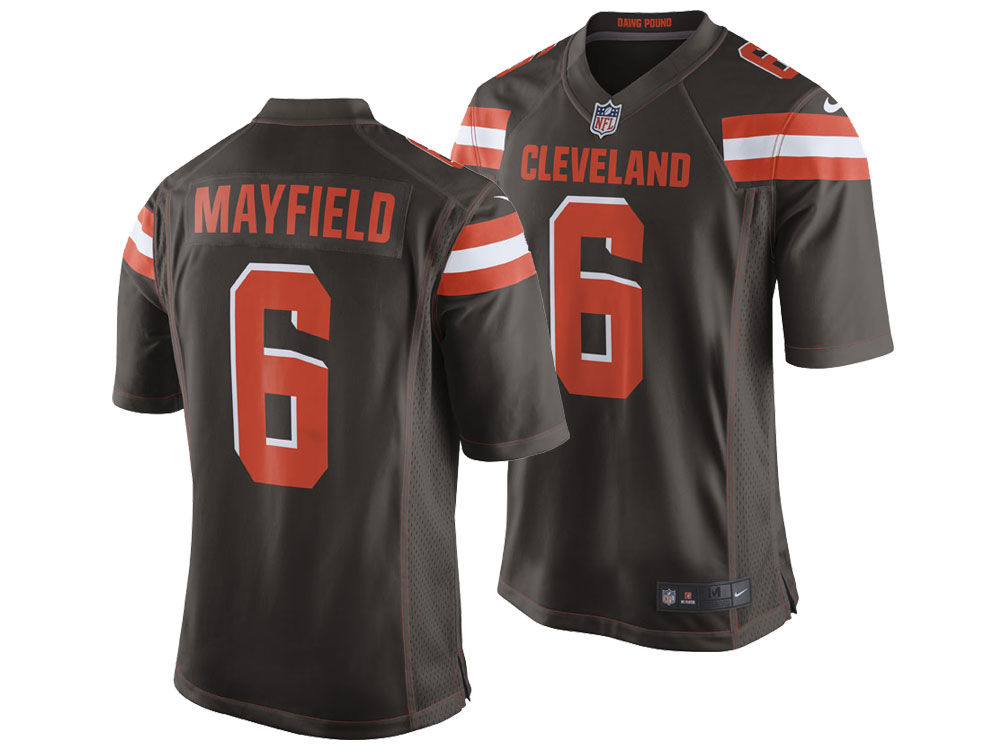 Cleveland Browns Baker Mayfield Nike NFL Infant Game Jersey  a4b170868