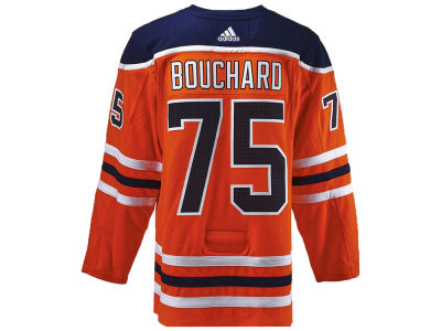 Edmonton Oilers Evan Bouchard adidas NHL Authentic Player Jersey
