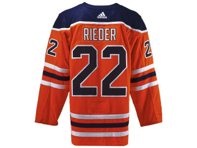 Edmonton Oilers Tobias Rieder adidas NHL Authentic Player Jersey