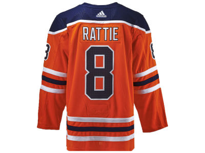 Edmonton Oilers Ty Rattie adidas NHL Authentic Player Jersey