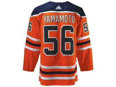 Edmonton Oilers Kailer Yamamoto adidas NHL Authentic Player Jersey