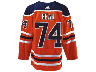 Edmonton Oilers Ethan Bear adidas NHL Authentic Player Jersey