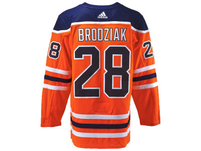 Edmonton Oilers Kyle Brodziak adidas NHL Authentic Player Jersey