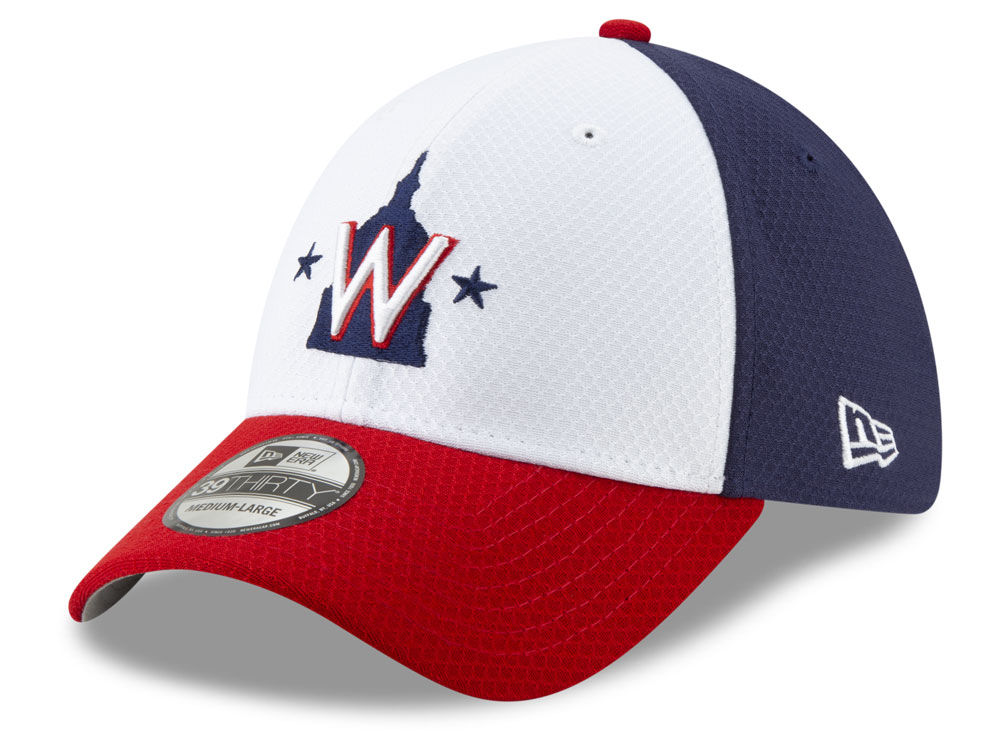 Washington Nationals New Era 2019 MLB Batting Practice 39THIRTY Cap ... b6190a13a95a