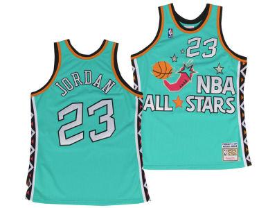 NBA All Star Michael Jordan Mitchell   Ness 1996 NBA Men s All Star  Authentic Jersey 71f42b9aef4