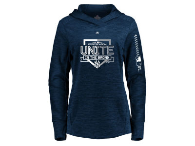 New York Yankees Majestic 2018 MLB Women's Postseason Hoodie