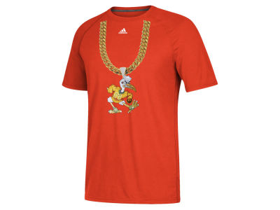 Miami Hurricanes adidas NCAA Men's Turnover Chain T-Shirt 2.0