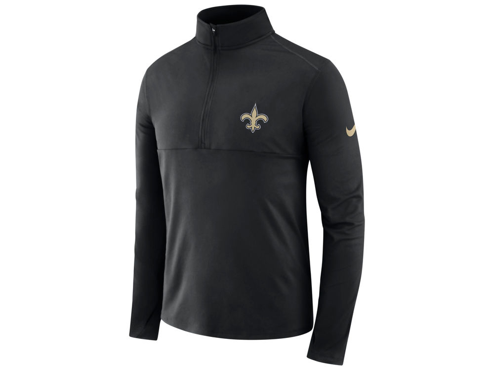 884a62e04 New Orleans Saints Nike NFL Men s Core Half Zip Pullover