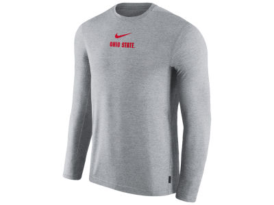 Nike NCAA Men's Dri-Fit Coaches Long Sleeve Top