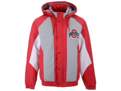 Ohio State Buckeyes Starter NCAA Men's Nylon Full Zip Jacket