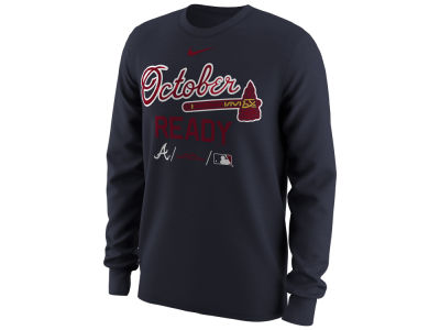 Atlanta Braves 2018 MLB Men's October Ready Long Sleeve T-Shirt