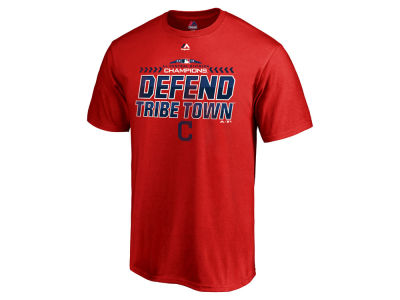 Cleveland Indians Majestic 2018 MLB Youth Division Champ T-Shirt