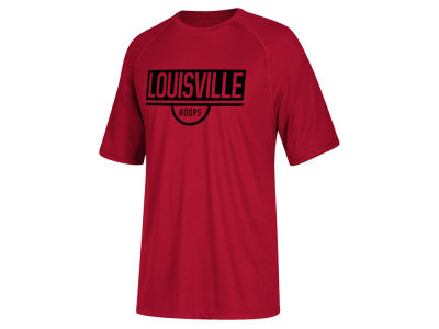 Louisville Cardinals adidas 2019 NCAA Youth Basketball Practice T-Shirt