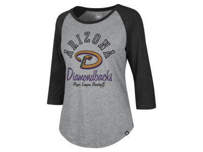 Arizona Diamondbacks '47 MLB Women's Imprint Splitter Raglan T-Shirt