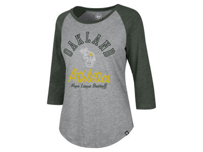 Oakland Athletics '47 MLB Women's Imprint Splitter Raglan T-Shirt