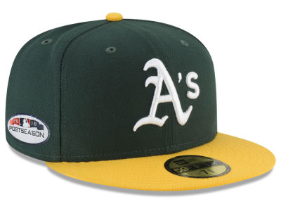 Oakland Athletics New Era 2018 MLB Postseason Patch 59FIFTY Cap