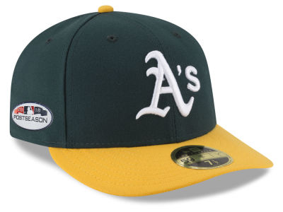 Oakland Athletics New Era 2018 MLB Postseason Patch Low Profile 59FIFTY Cap