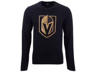 Vegas Golden Knights NHL Men's Blackout Long Sleeve T-Shirt