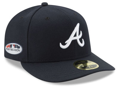 Atlanta Braves New Era 2018 MLB Postseason Patch Low Profile 59FIFTY Cap