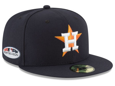 Houston Astros New Era 2018 MLB Postseason Patch 59FIFTY Cap