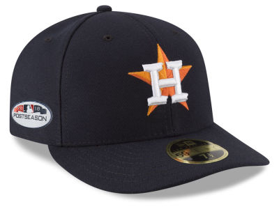 Houston Astros New Era 2018 MLB Postseason Patch Low Profile 59FIFTY Cap