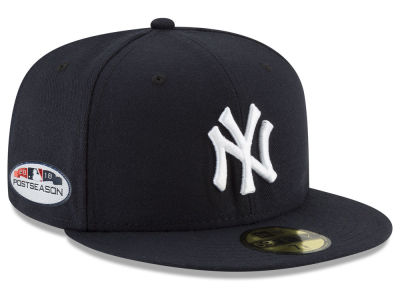 New York Yankees New Era 2018 MLB Postseason Patch 59FIFTY Cap