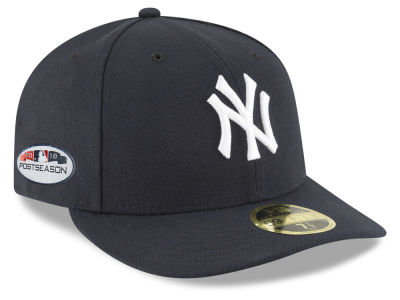 New York Yankees New Era 2018 MLB Postseason Patch Low Profile 59FIFTY Cap