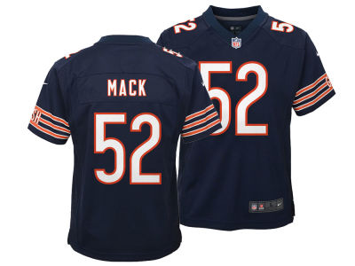 Chicago Bears Khalil Mack Nike NFL Youth Game Jersey