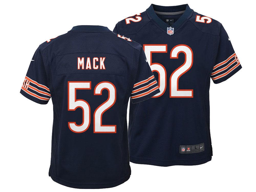 Chicago Bears Khalil Mack Nike NFL Toddler Game Jersey  d63f2a1ec