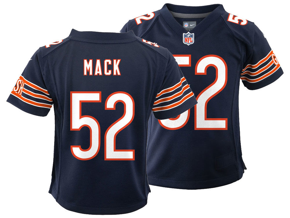 closeout khalil mack kids t shirt 500 level db318 91e12  order chicago  bears khalil mack nike nfl kids game jersey 0be40 04f1e 949b34059
