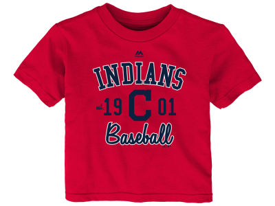 Cleveland Indians Majestic MLB Infant Baseball Script T-Shirt