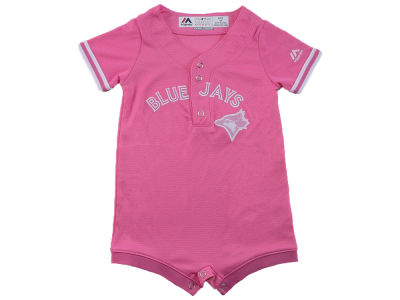 Toronto Blue Jays Outerstuff MLB Infant Girls Fashion Romper
