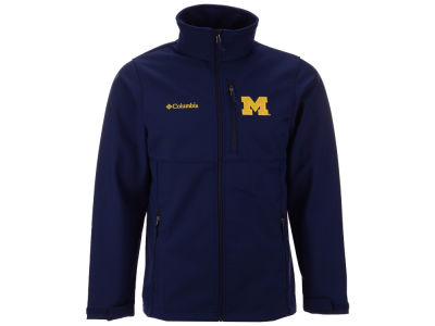 Michigan Wolverines Columbia NCAA Ascender Softshell Jacket