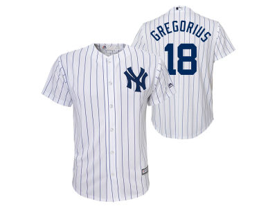 New York Yankees Didi Gregorius Majestic MLB Youth Player Replica Cool Base Jersey