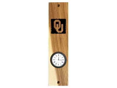 Oklahoma Sooners Timeless Etchings NCAA Wall Mount Clock