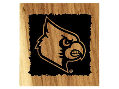 Louisville Cardinals Timeless Etchings NCAA Coaster Sets