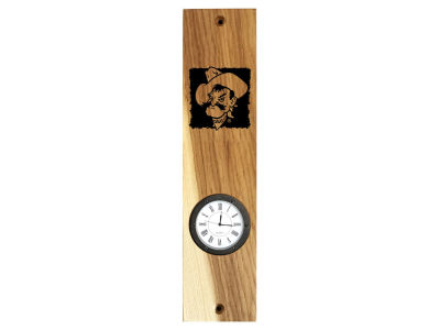 Oklahoma State Cowboys Timeless Etchings NCAA Wall Mount Clock